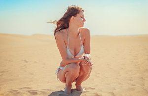 woman in bikini